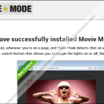 Remove Ads by Movie Mode Pop-up