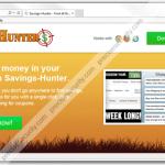 Remove Savings-Hunter adware