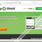 "Remove ""Savings Shield"" Ads"