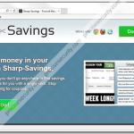 "Uninstall ""Sharp-Savings"" adware"
