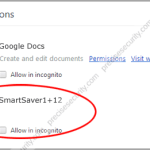 Remove SmartSaver1+12 Extension