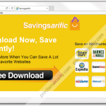 Remove Savingsarific ads and coupons