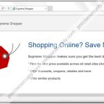 """Remove """"Supreme Shopper"""" ads"""