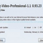 how to remove hq video professional