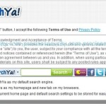 how to remove searchya toolbar