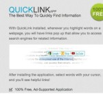 "Remove QuickLink ""Ads by QuickLink"" (Removal Guide)"