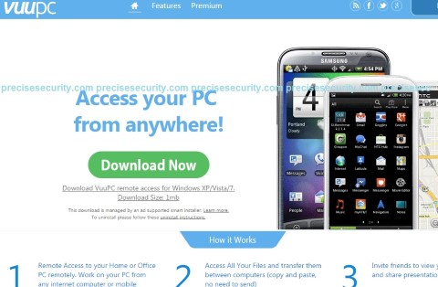 remove remote desktop access by vuupc