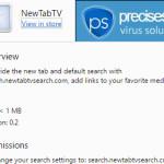 Remove NewTabTV(Media) virus