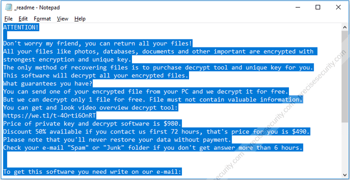 Remove Litar Ransomware and Decrypt  litar FIles - Virus