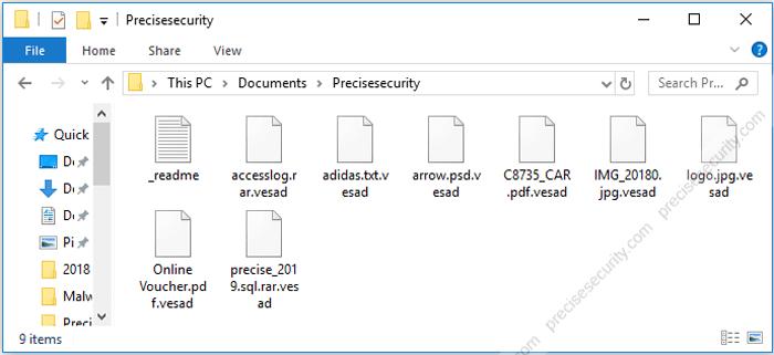 Remove Vesad Ransomware and Decrypt  vesad Files - Virus Solution