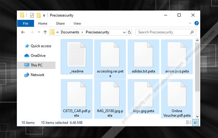 Remove Peta Ransomware (Decrypt  peta Files) - Virus