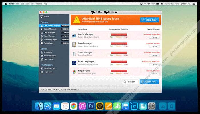 Qbit Mac Optimizer
