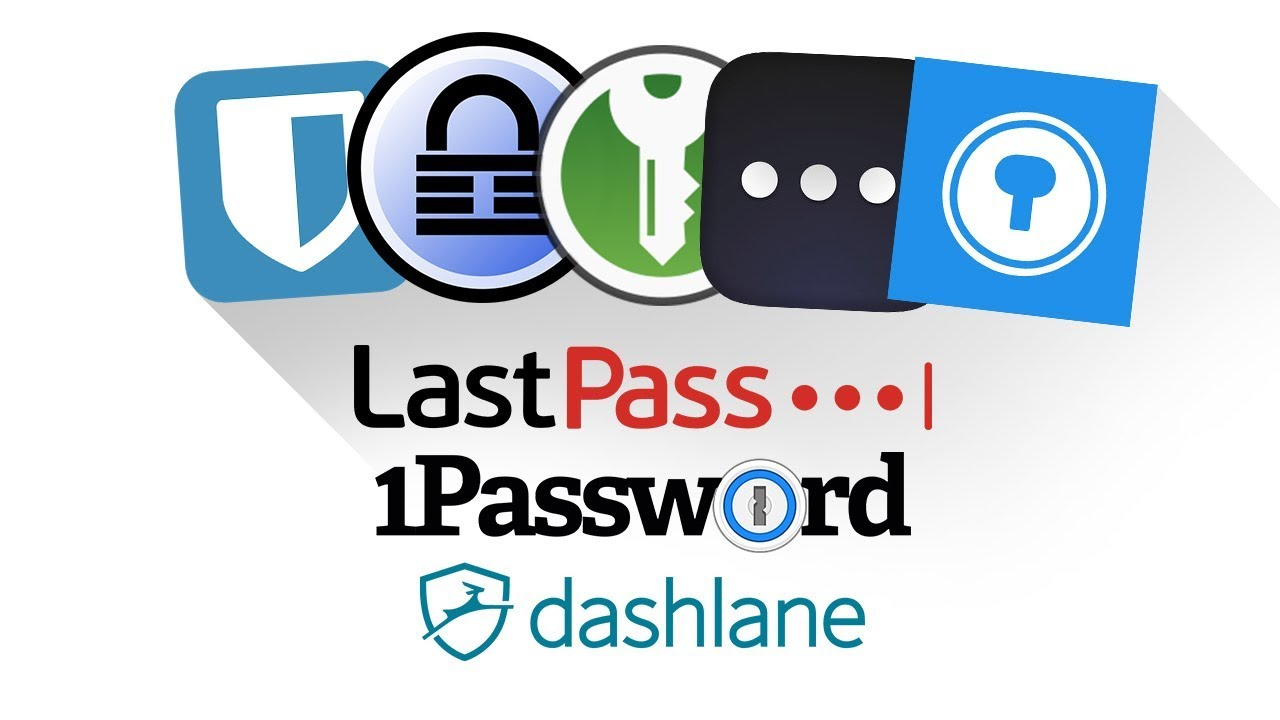 Top 5 Free Password Managers 2019