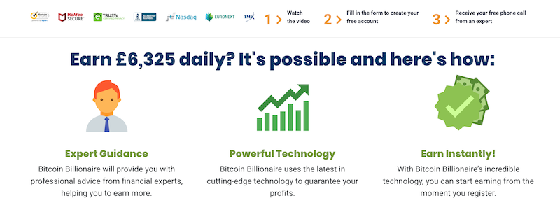 Bitcoin Billionaire Payouts